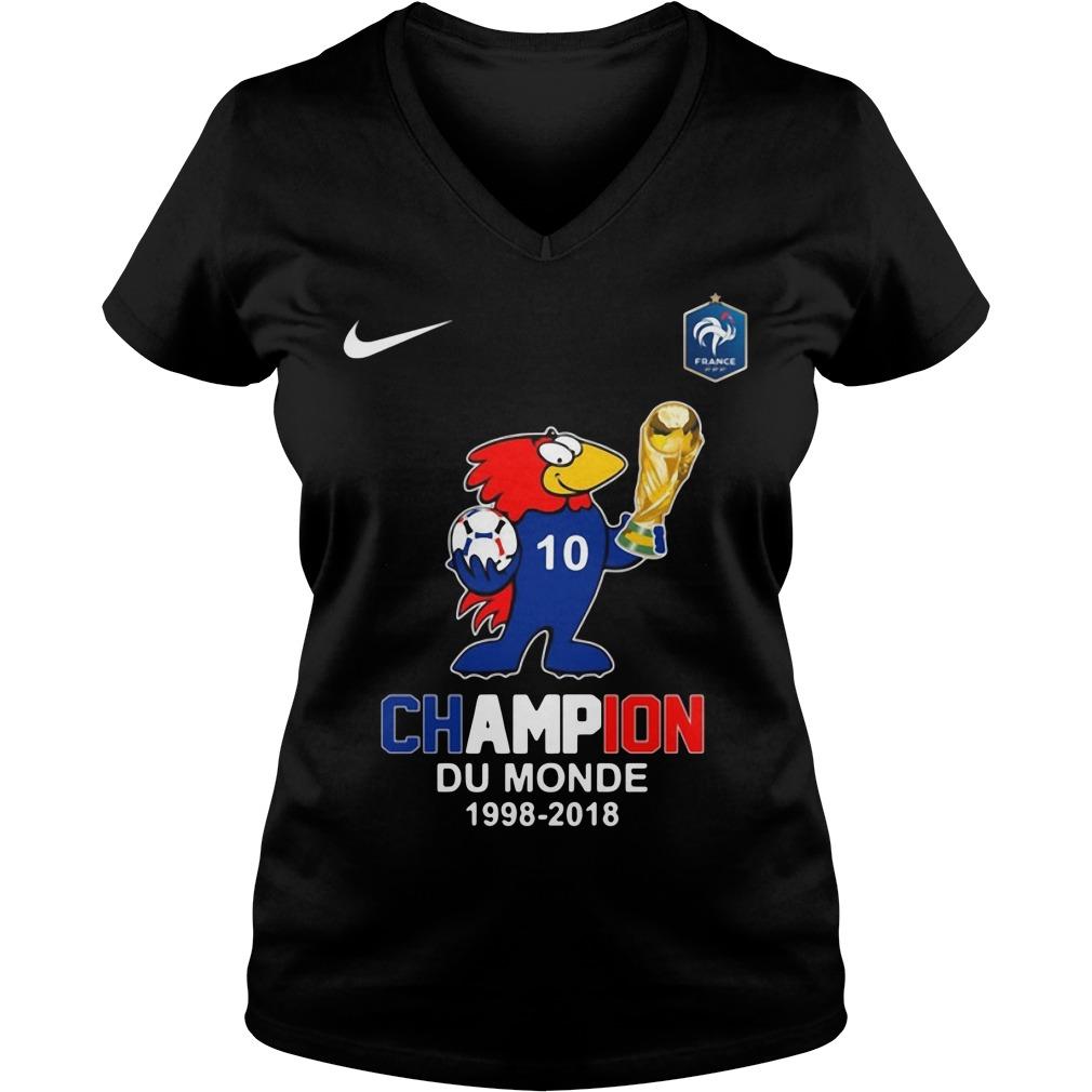 Footix Champion Du Monde V-neck