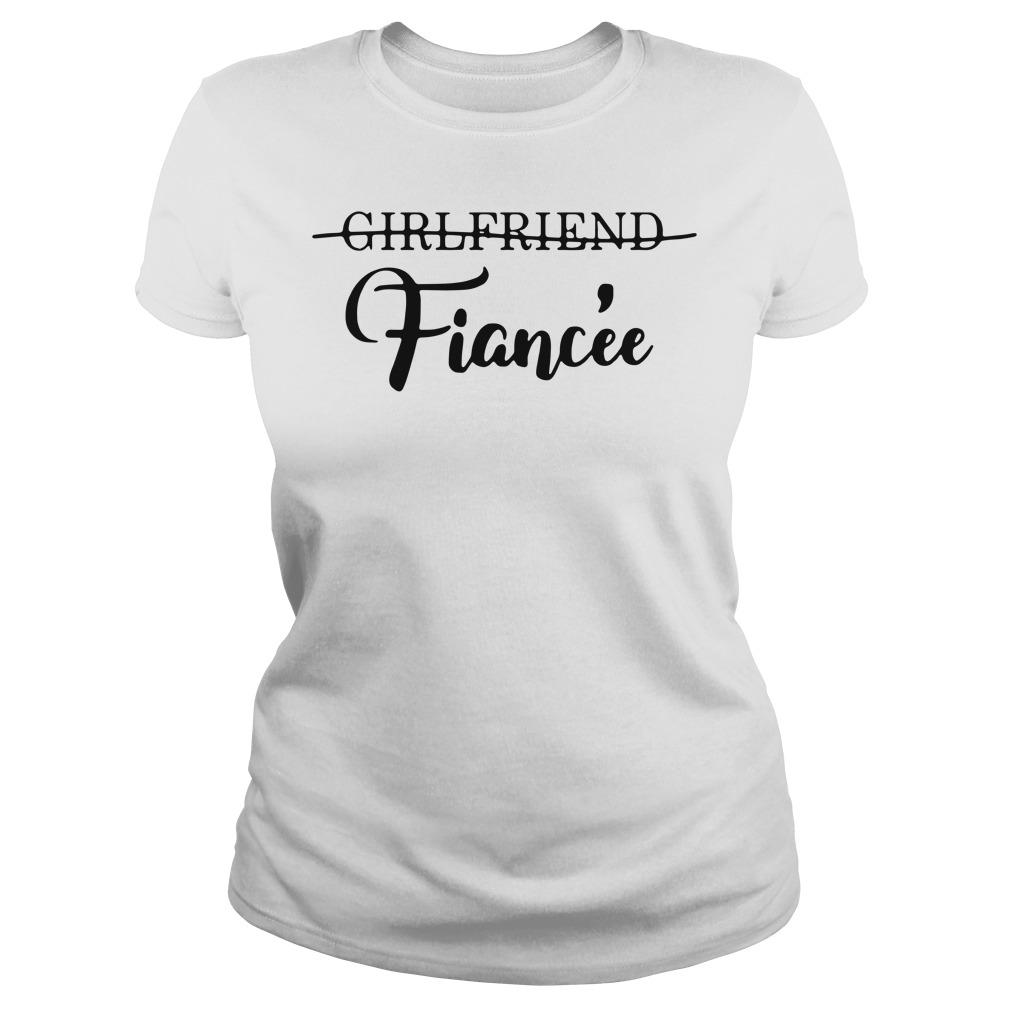 Girlfriend Fiancée Ladies tee