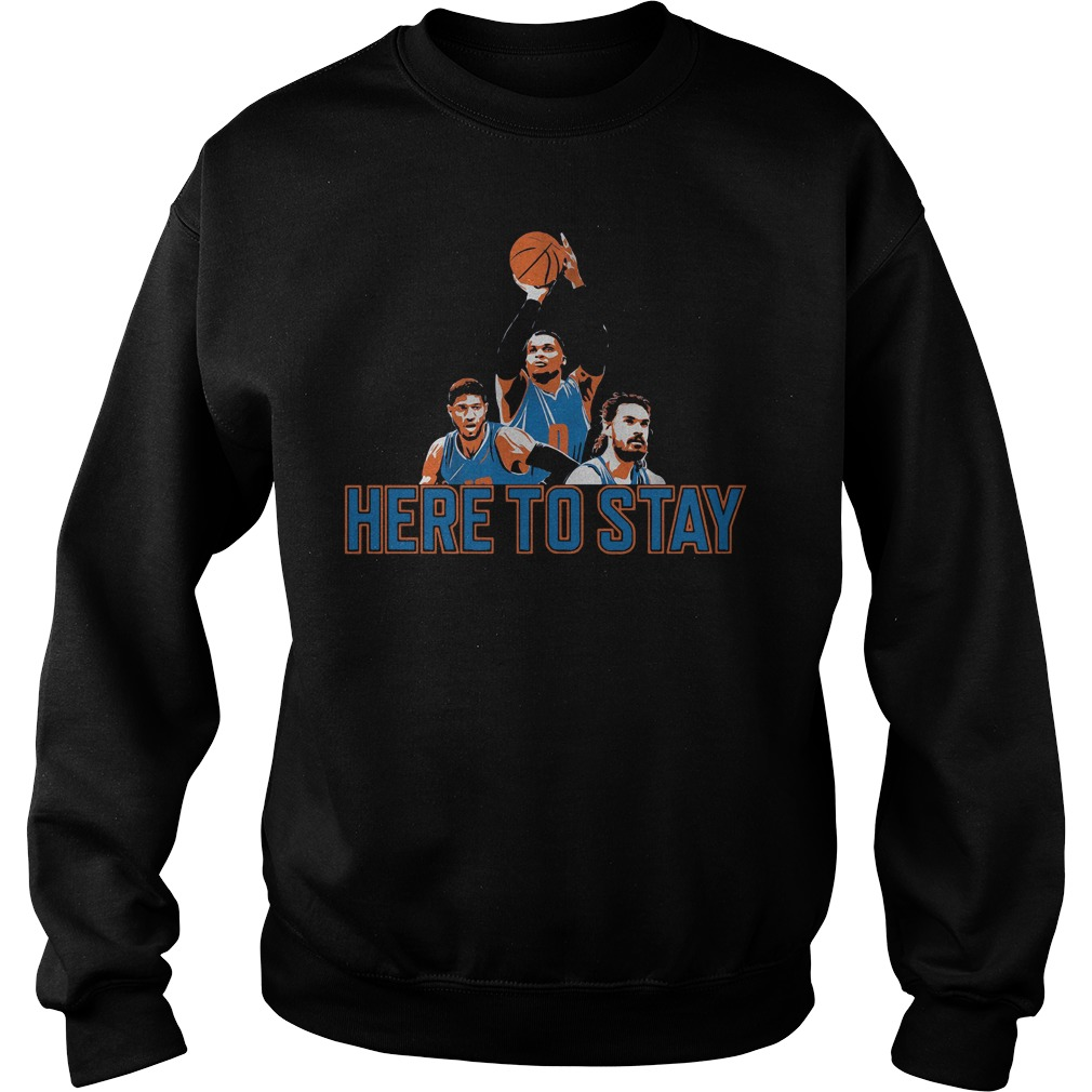 Official Here to stay Paul, Russell and Steven Sweater
