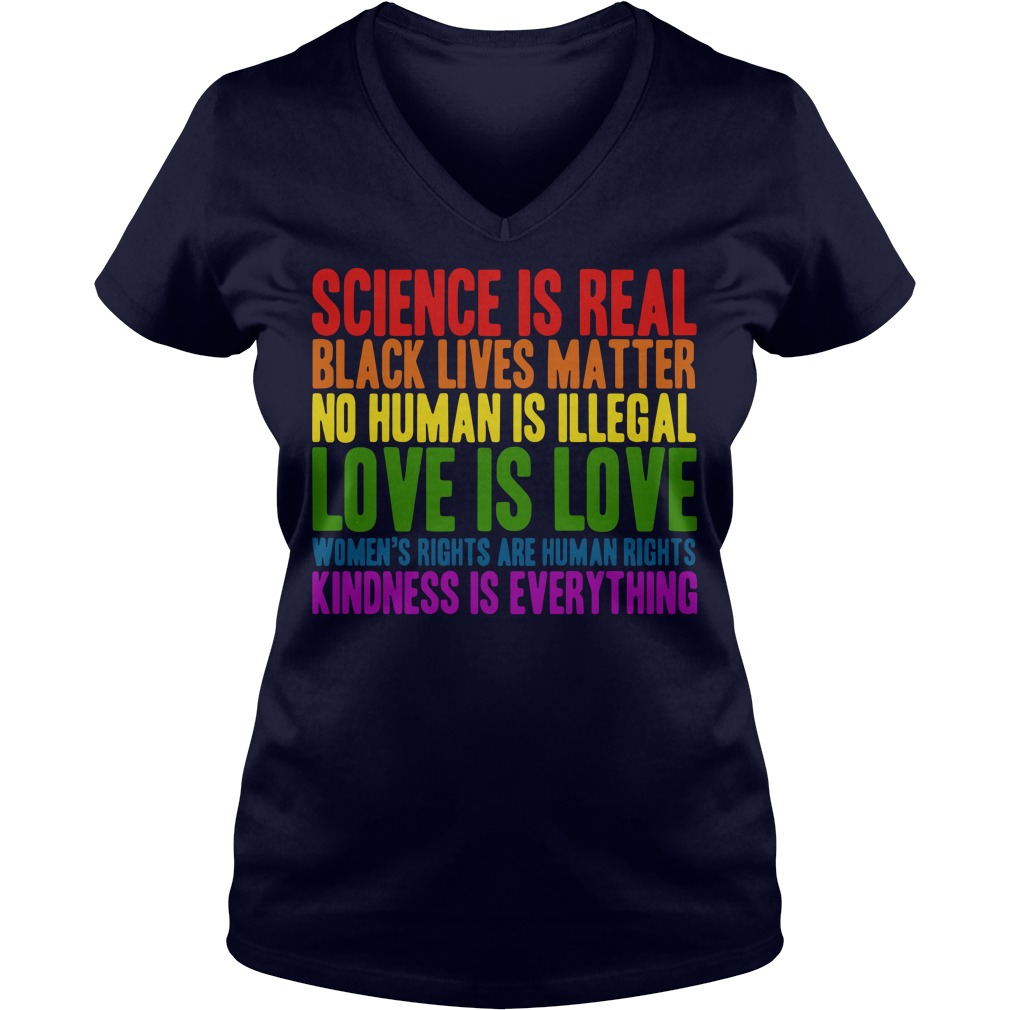 Human Right and World Truths V-neck