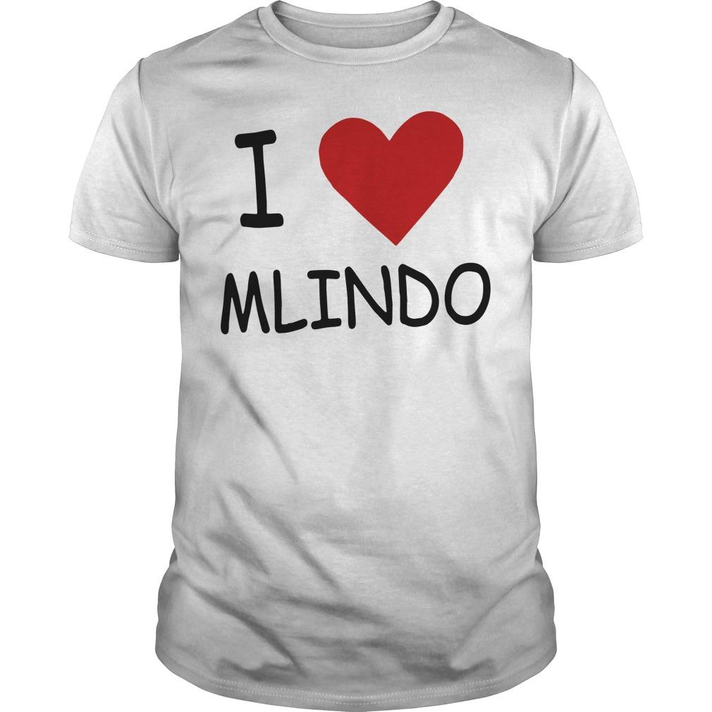 I Love Mlindo Guys tee