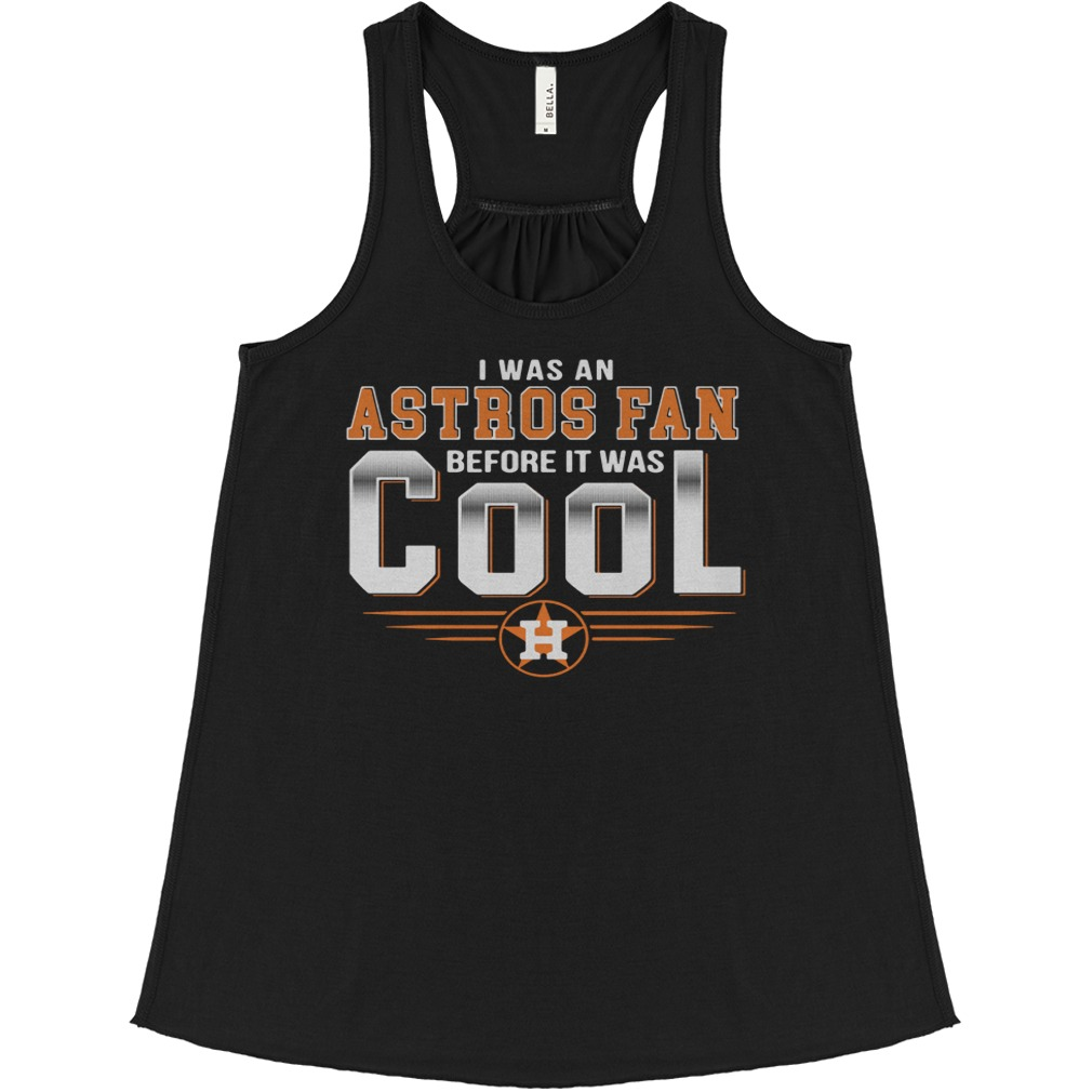 I was an Astros fan before it was cool Houston Flowy tank