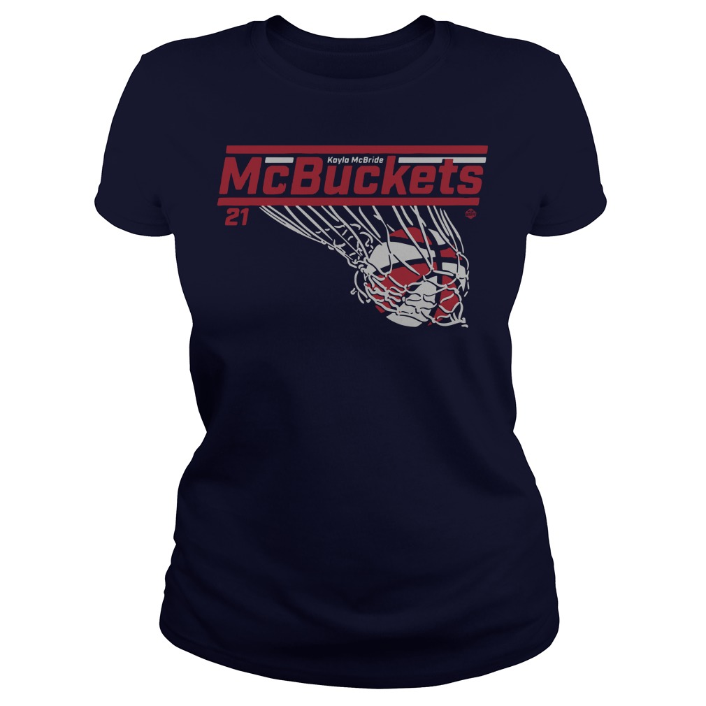Kayla Mcbride McBuckets ladies tee
