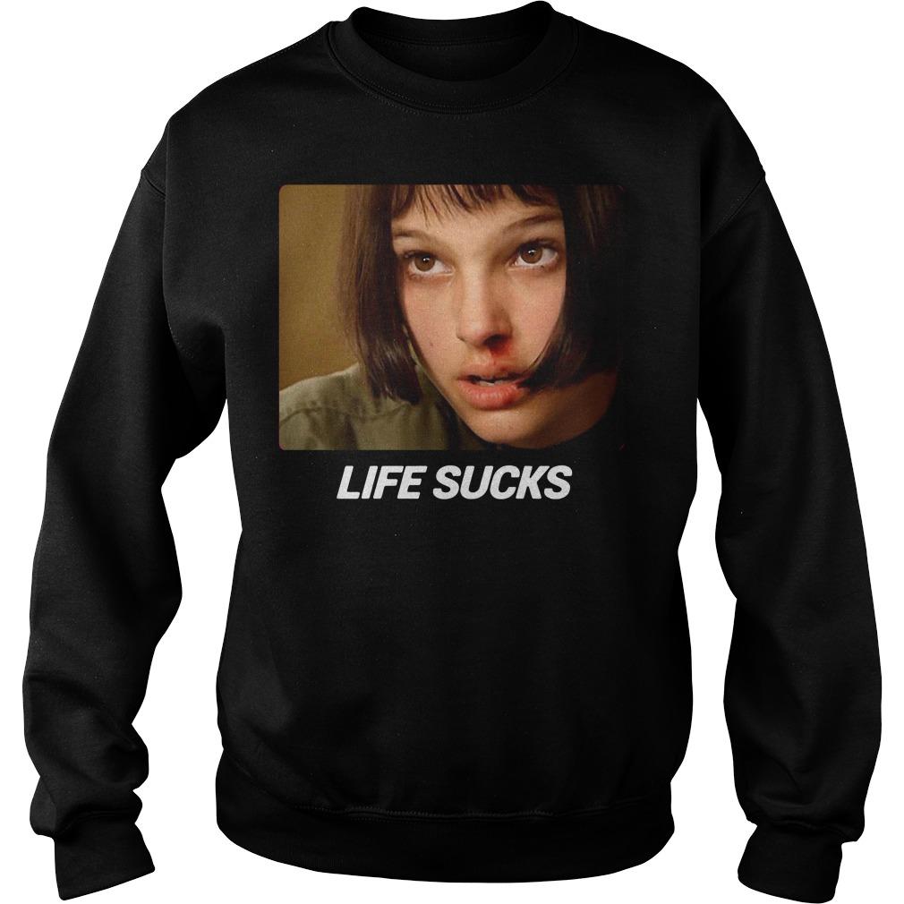Manu Rios Mathilda life sucks Sweater