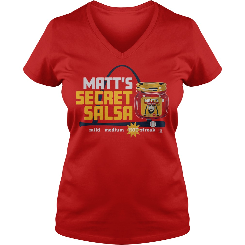 Matt Secret Salsa V-neck
