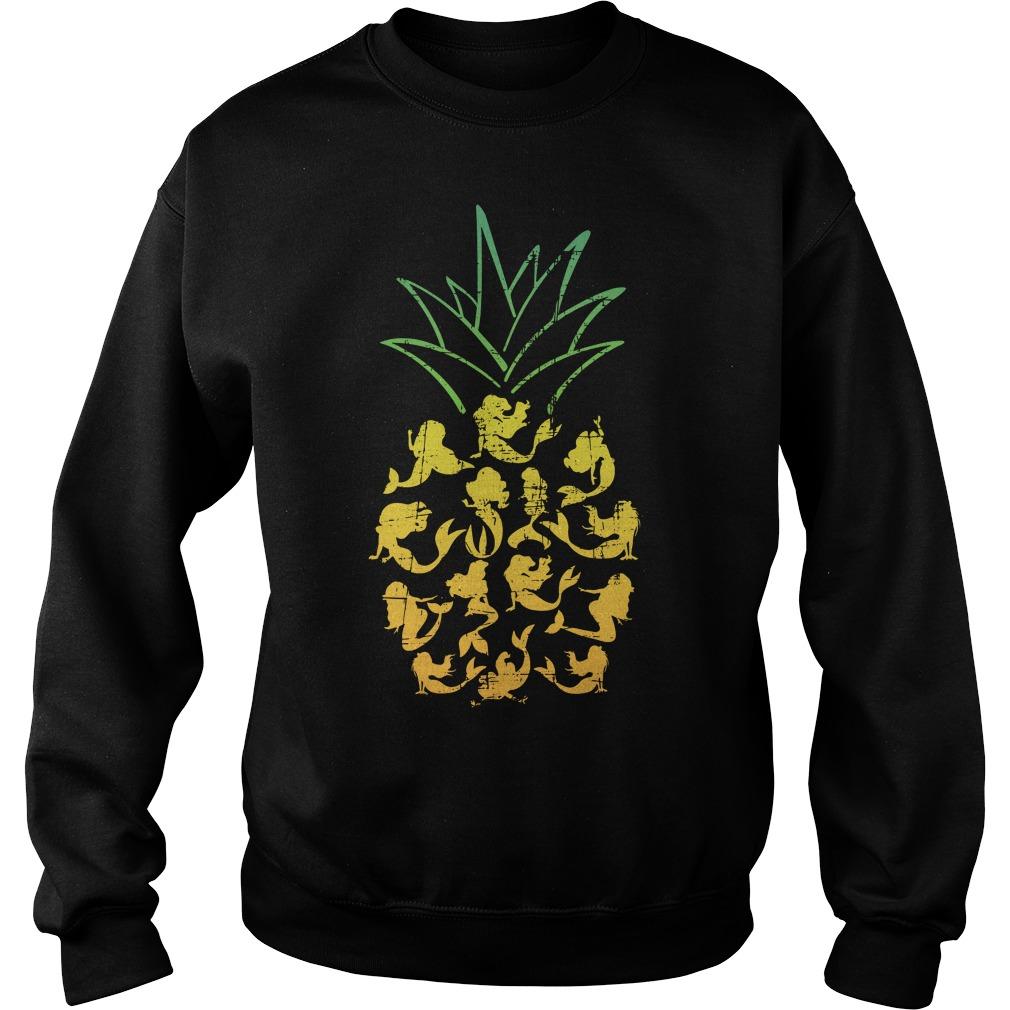 Mermaid Pineapple Sweater