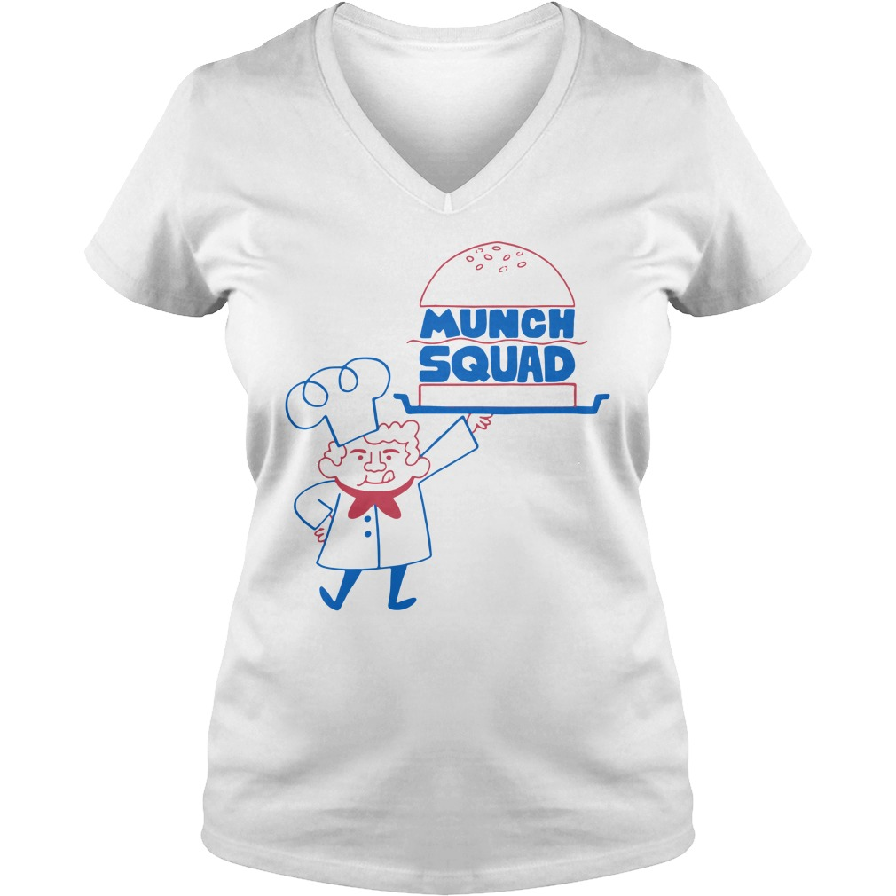 Munch Squad V-neck