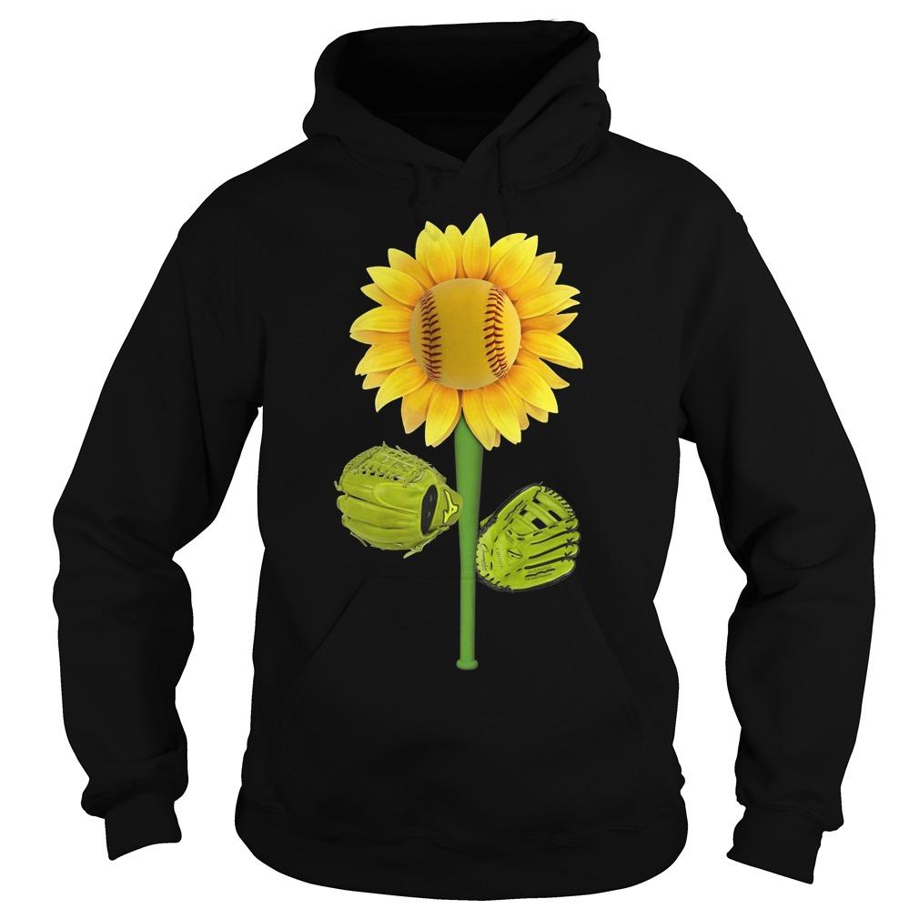 Official Baseball Sunflower Hoodie