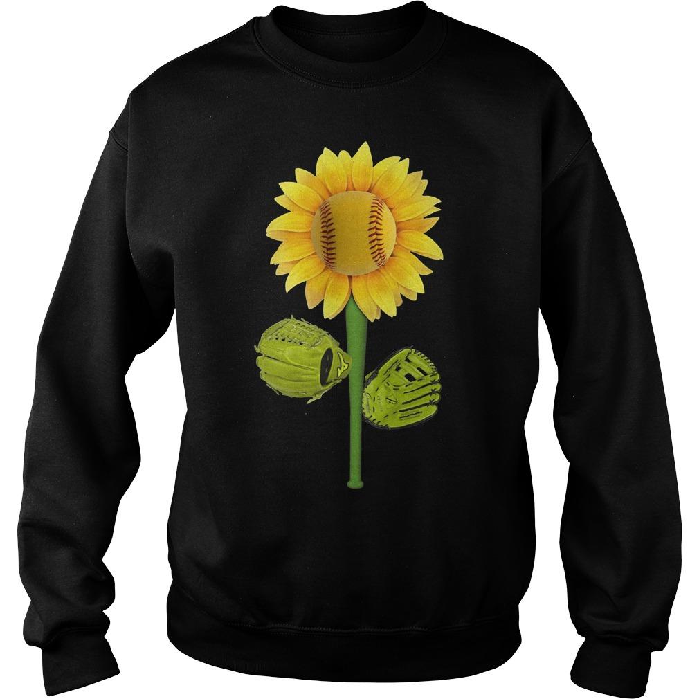 Official Baseball Sunflower Sweater
