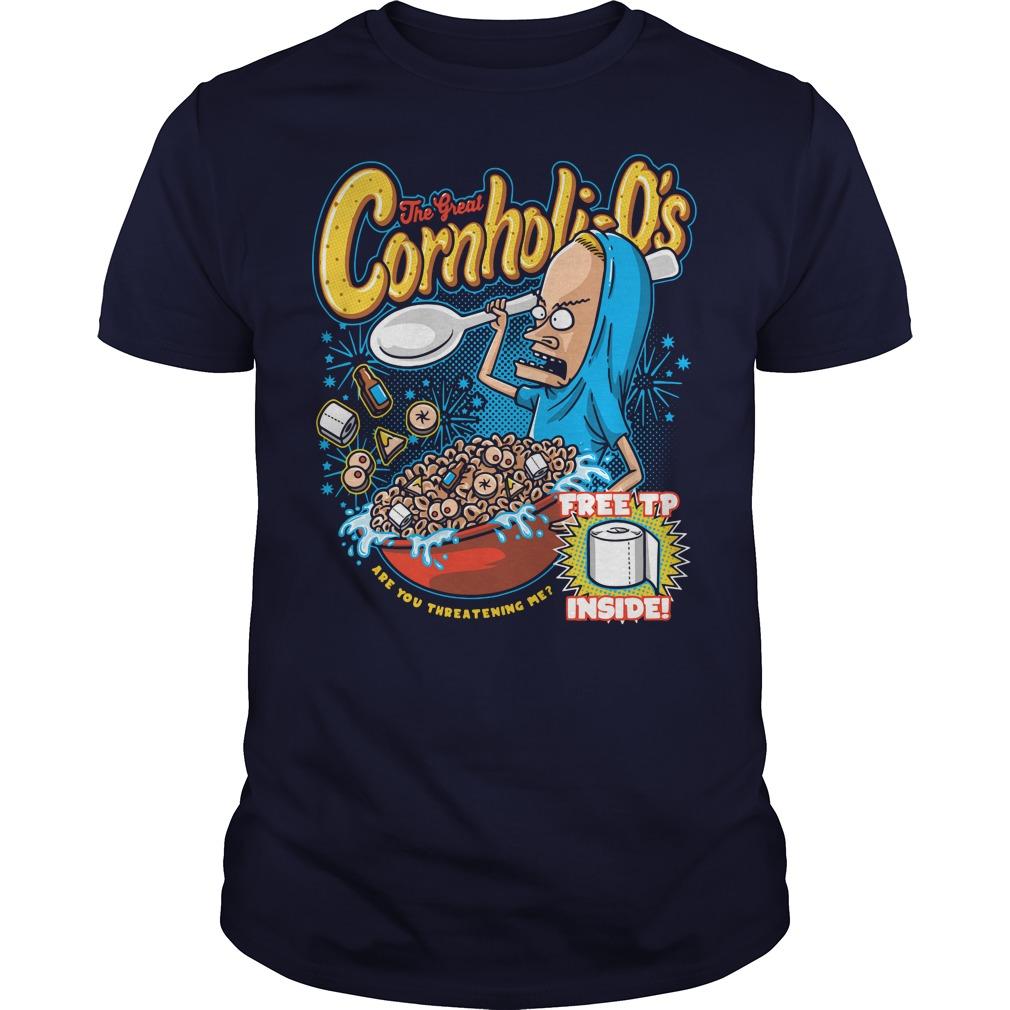 Official Cornholi-o's Guys tee