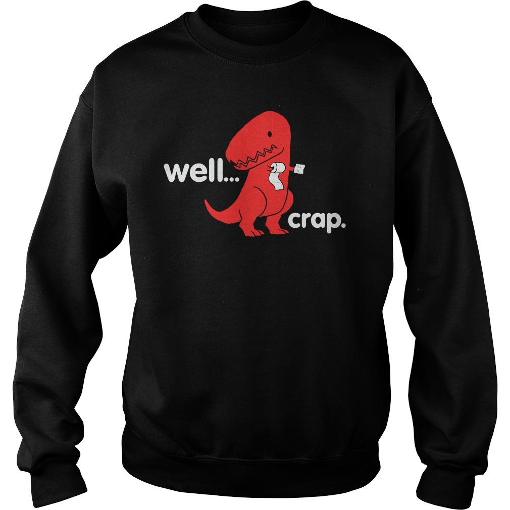 Official Crap Dino Sweater