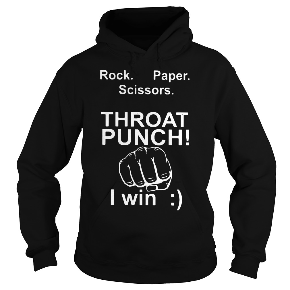 Official Rock paper scissors throat punch I win shirt 1 Picturestees Clothing - T Shirt Printing on Demand
