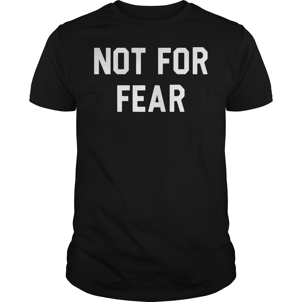 Official Shareef O'Neal Not for Fear Guys tee
