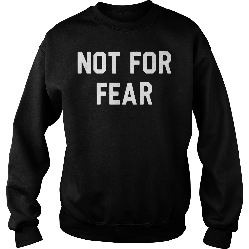 Official Shareef O'Neal Not for Fear Sweater