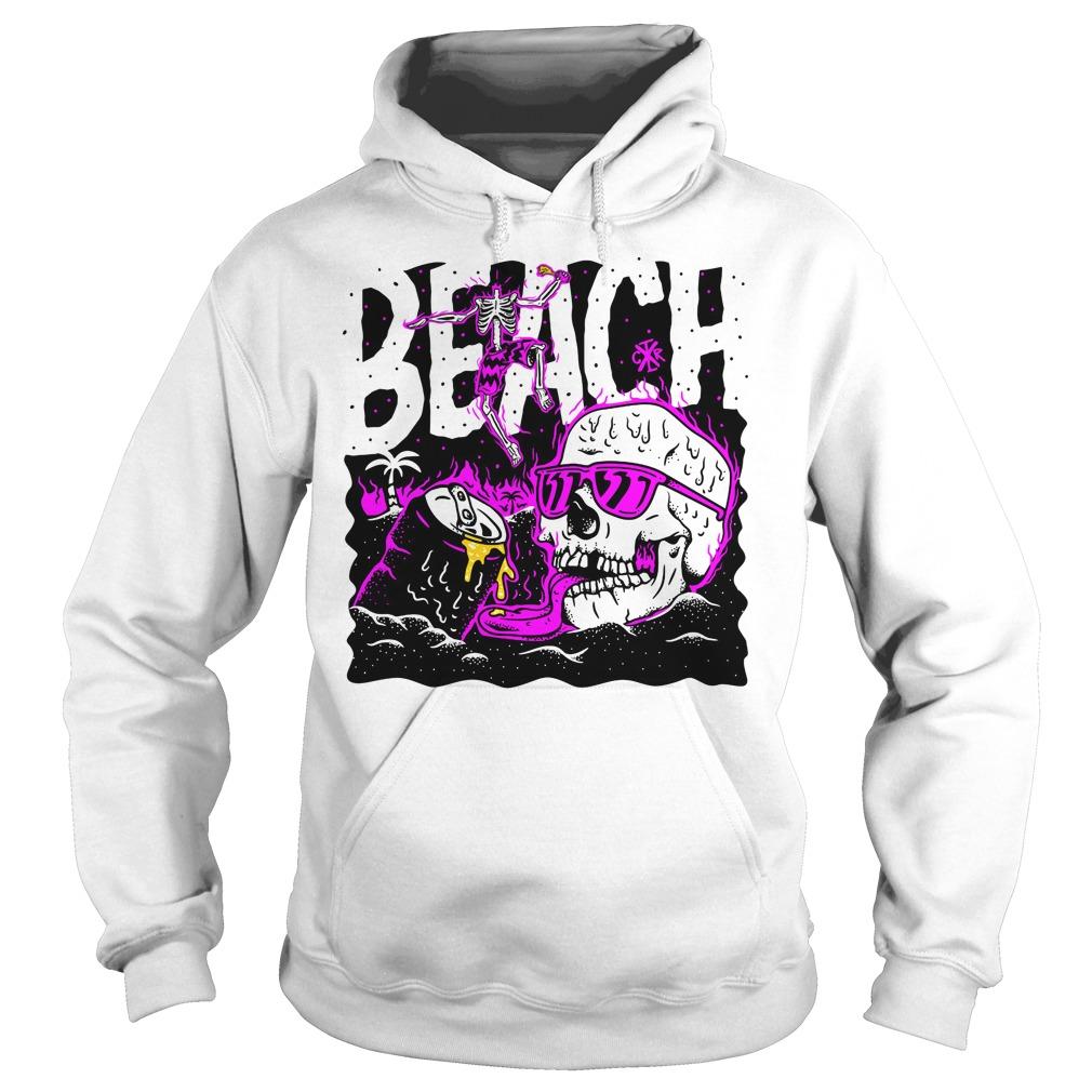 Official skull beach Hoodie