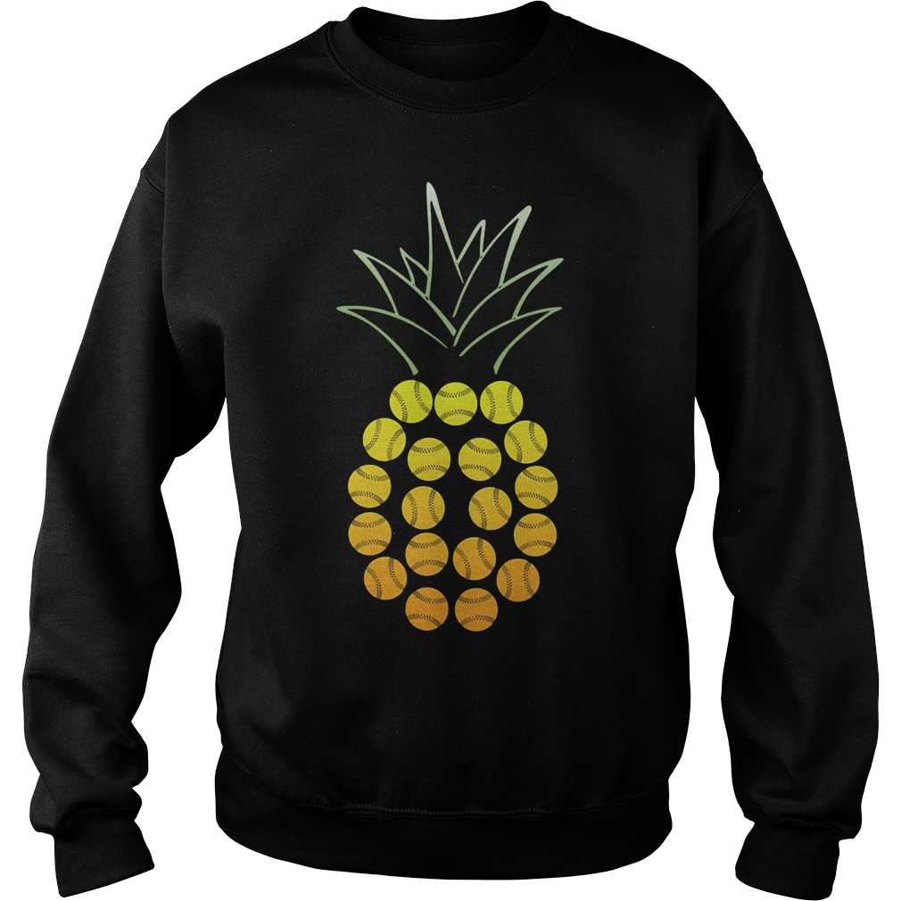 Official Softball Pineapple Sweater