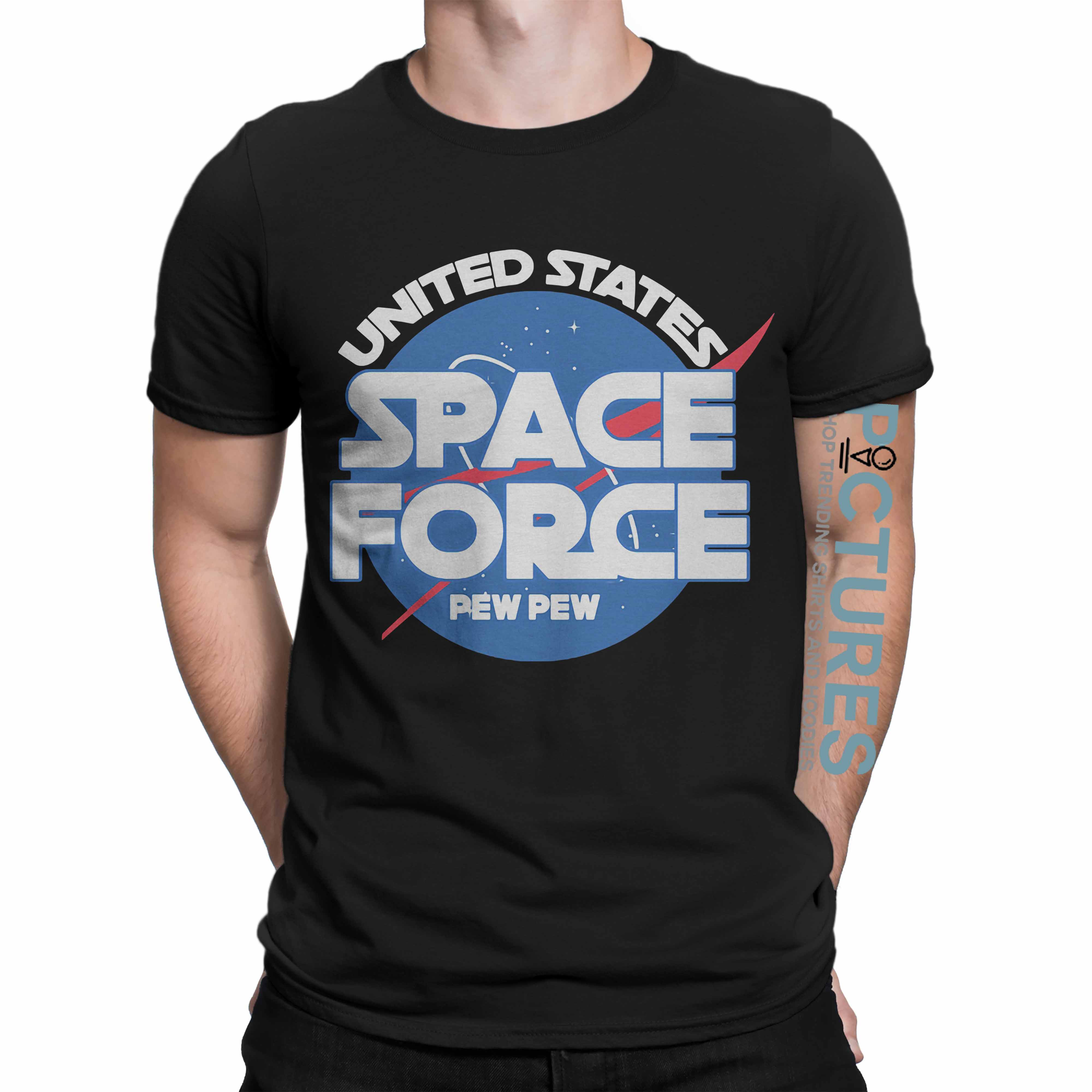 Official Space force pew pew shirt