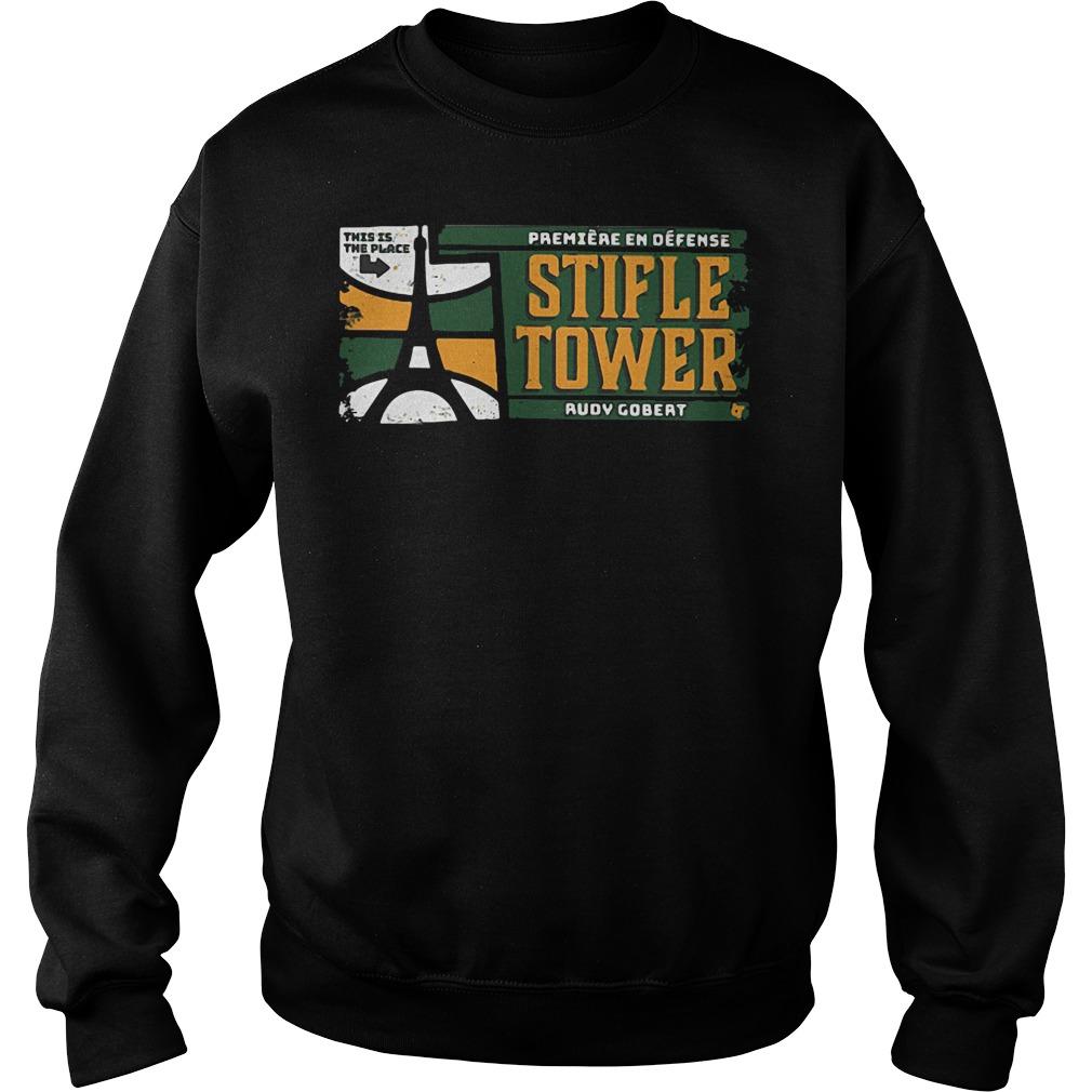 Official Stifle Tower Utah Rudy Gobert Sweater