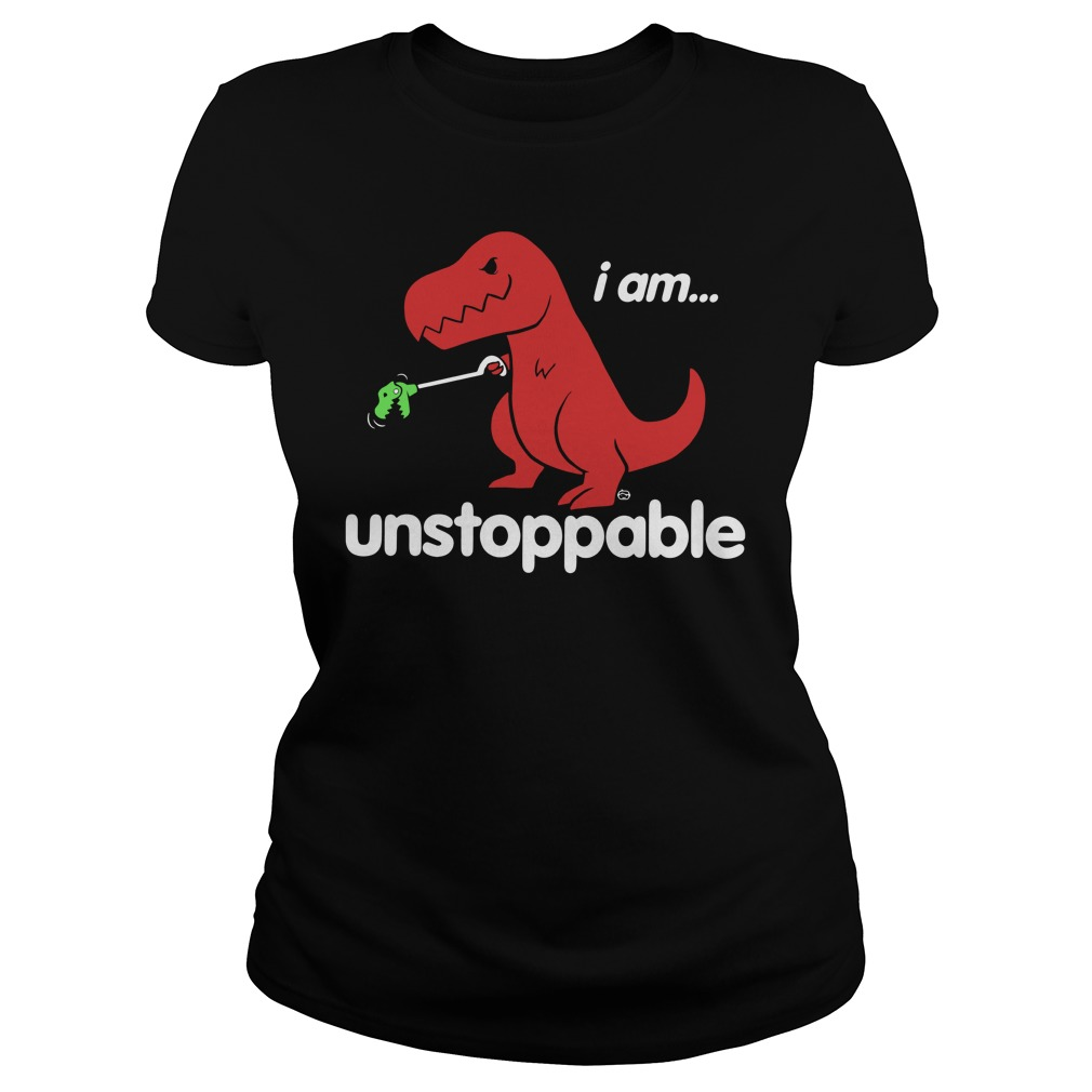 Official Unstoppable Dinosaur Ladies tee