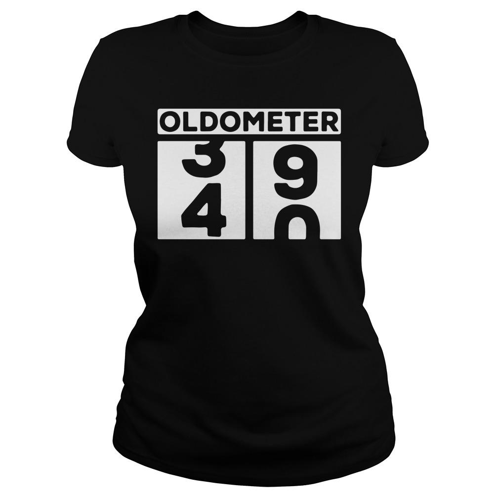 Oldometer 34 90 Ladies tee