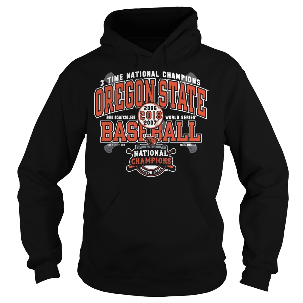 Oregon State Beavers National Champions Grand Slam Hoodie