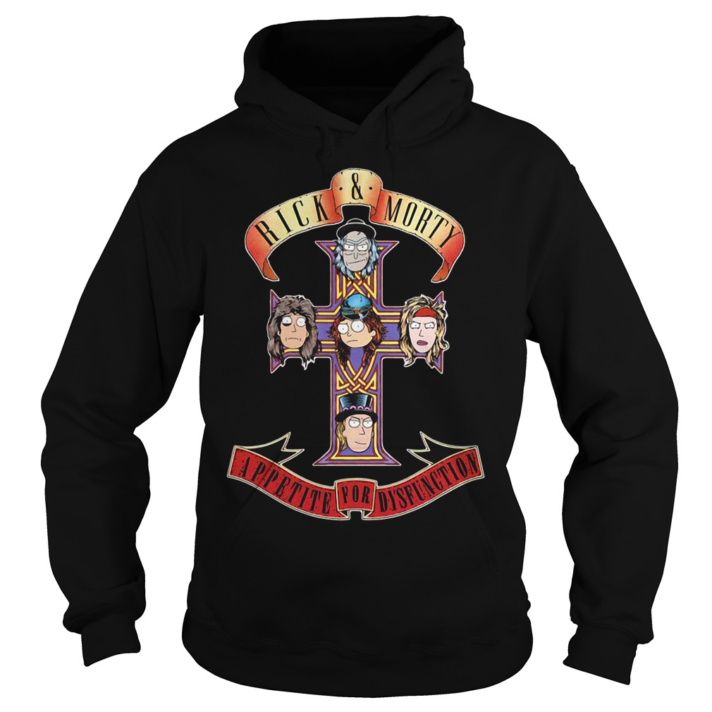 Rick and Morty appetite for dysfunction Hoodie