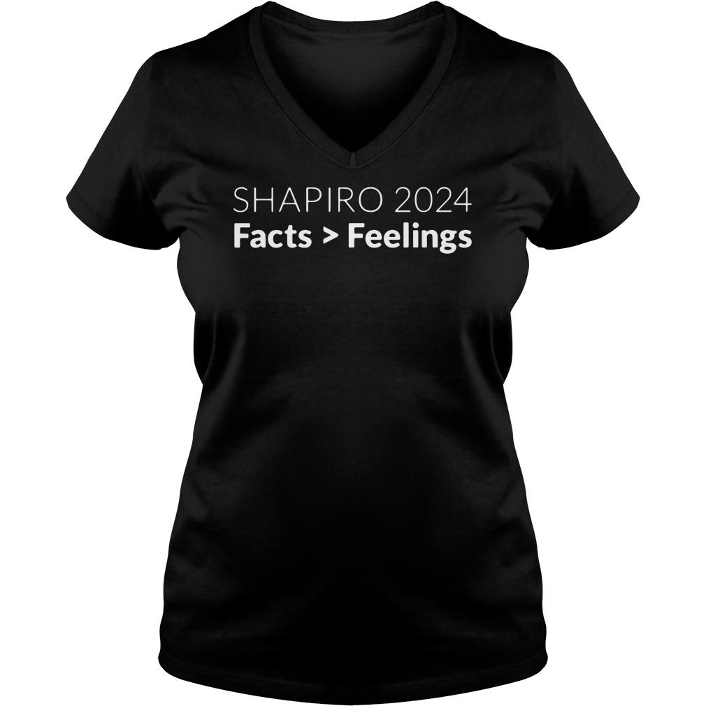 Shapiro 2024 Facts Feelings V-neck