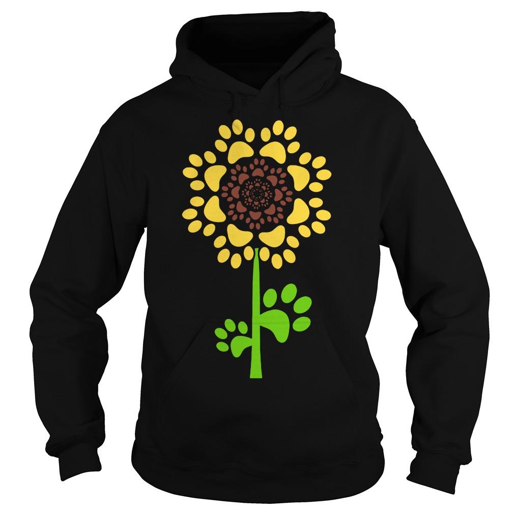 Sunflower Dog Paw Hoodie