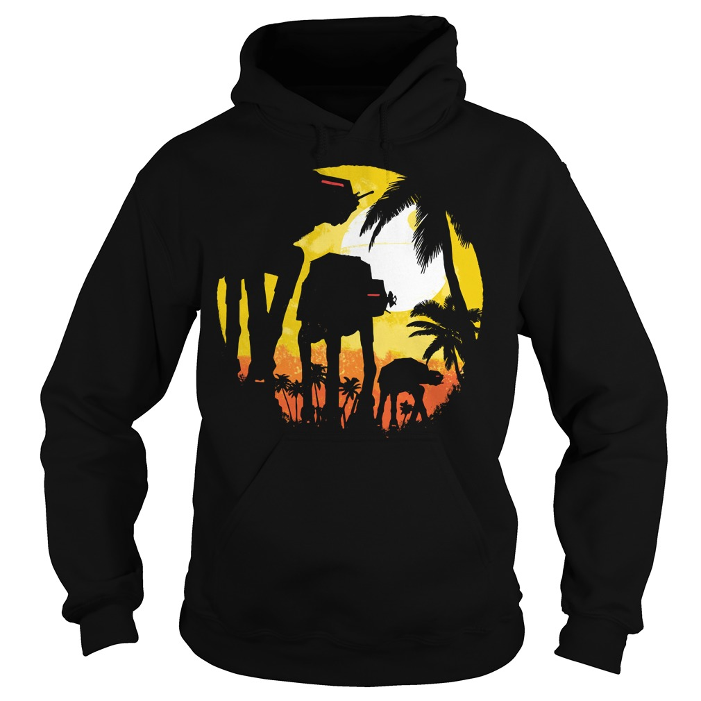 Tropical attack Star wars Hoodie