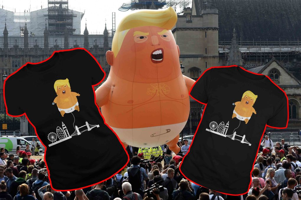 Trump Baby Balloon T-shirt