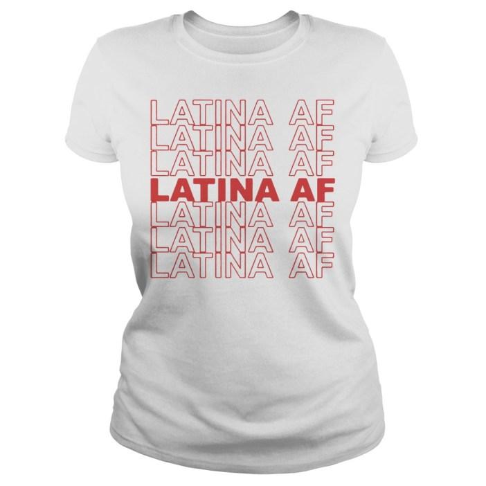 Latina AF Ladies tee