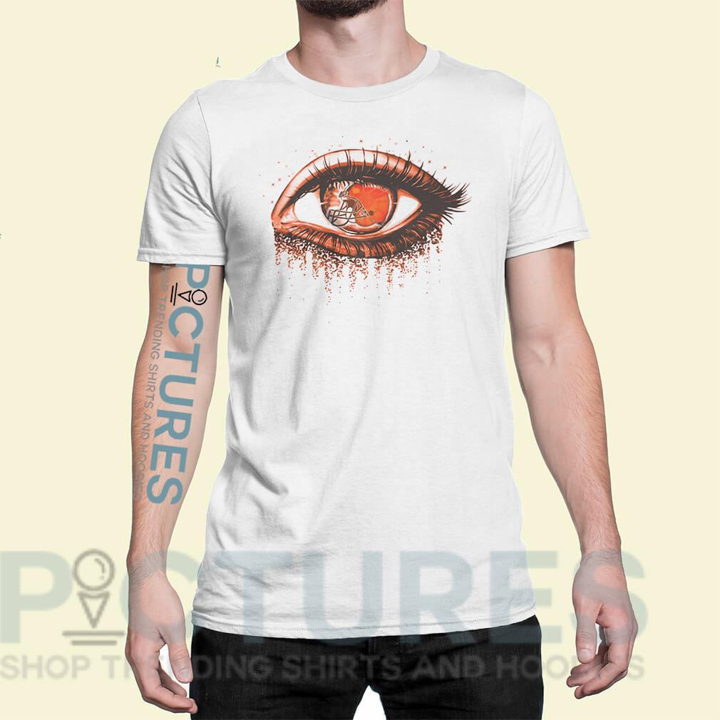 Cleveland Browns eye shirt