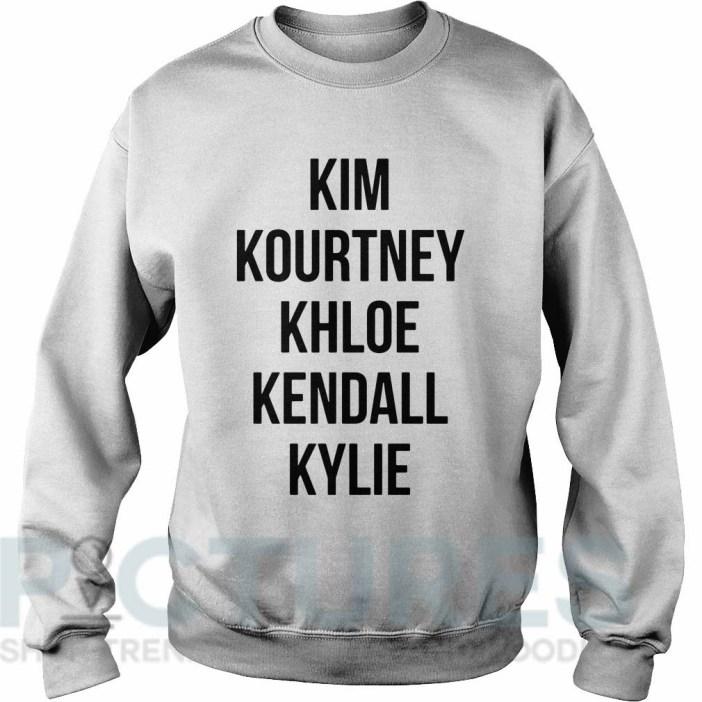 Kim Kourtney Khloe Kendall Kylie Sweater