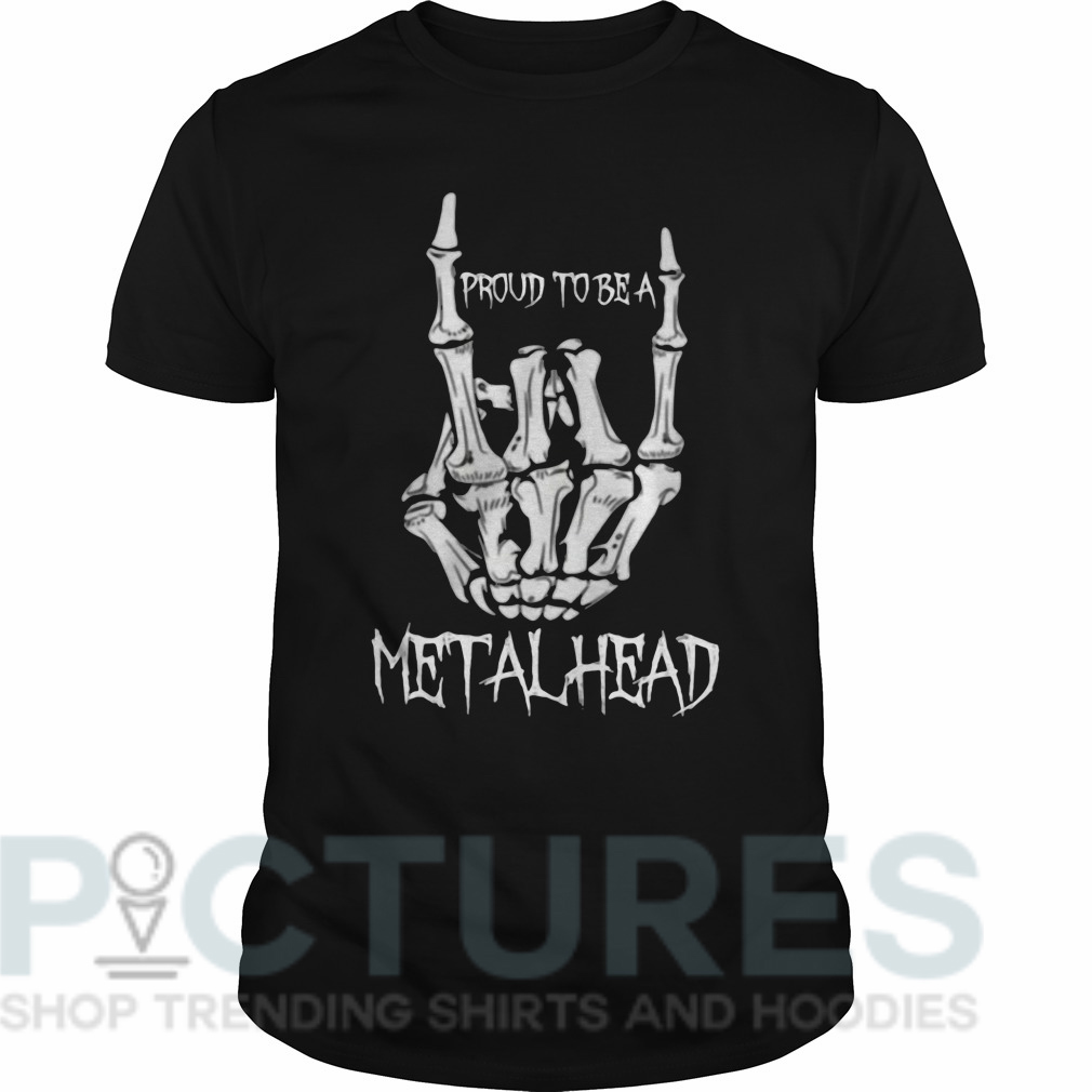 Proud to be a metalhead Guys tee