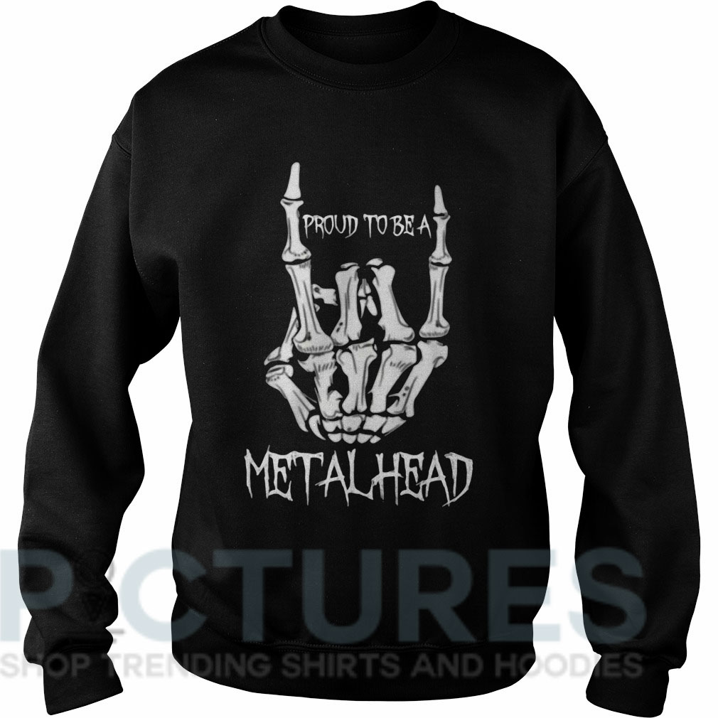 Proud to be a metalhead Sweater