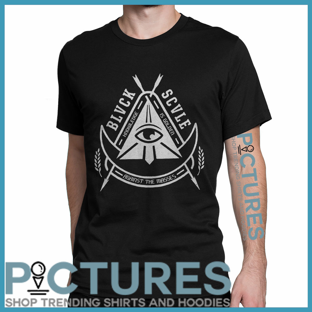 Black Scale Illuminati shirt