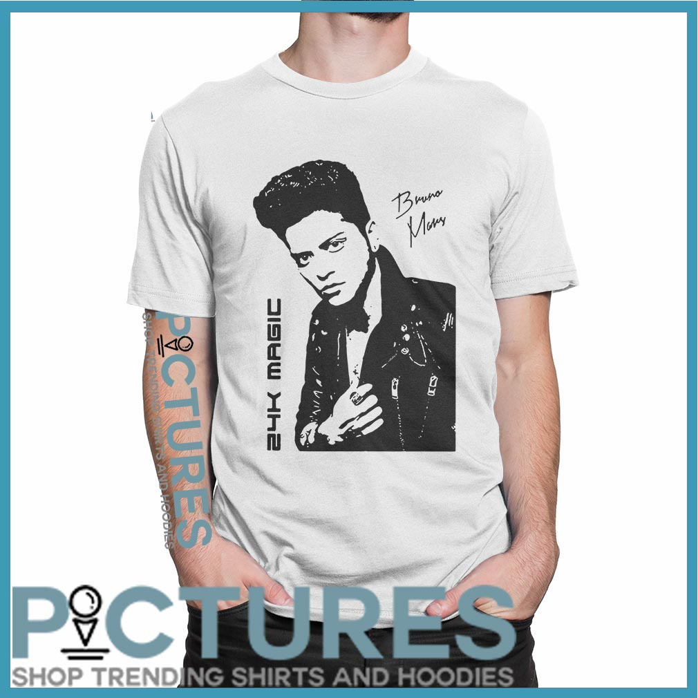 Bruno Mars 24k Magic shirt