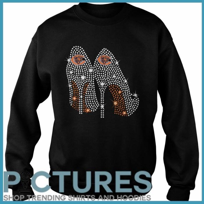 Chicago Bears high heels Sweater