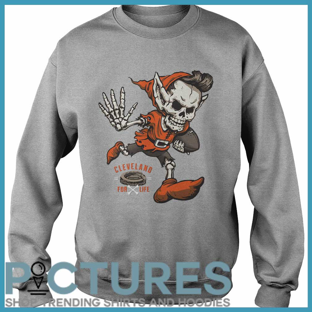 Cleveland football for life Sweater