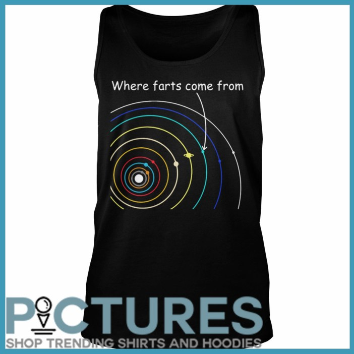 Where farts come from Tank top