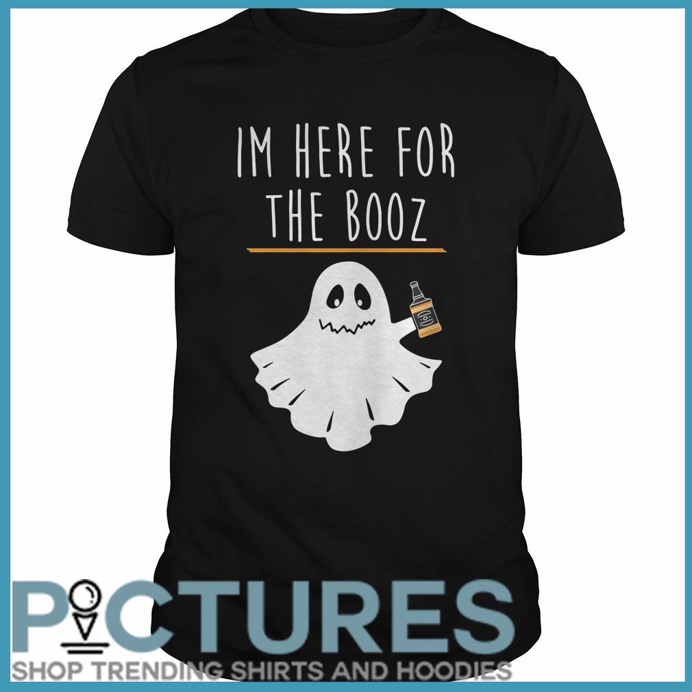 Halloween I'm here for the Booze Guys tee