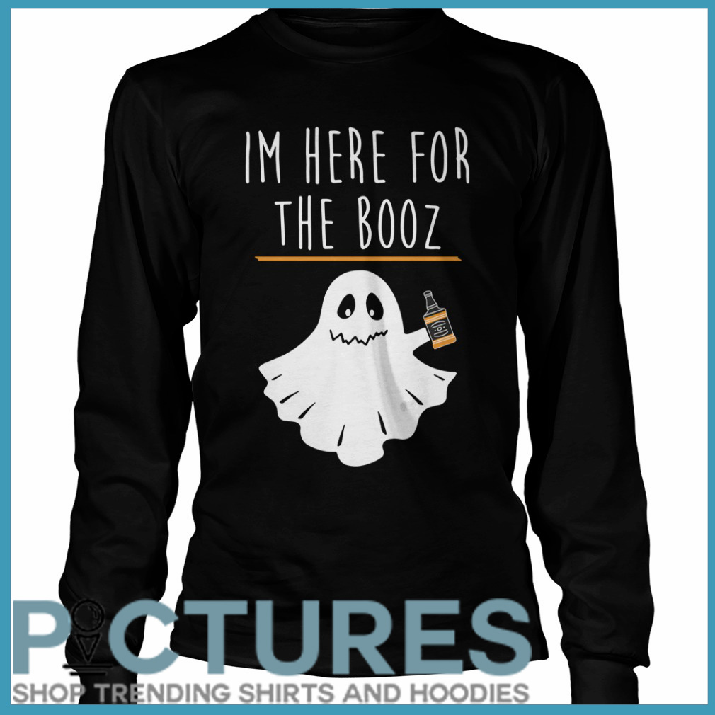 Halloween I'm here for the Booze Long sleeve