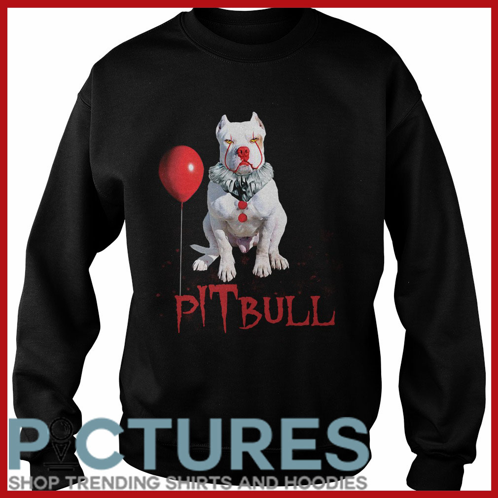 Halloween Pitbull Pennywise Sweater