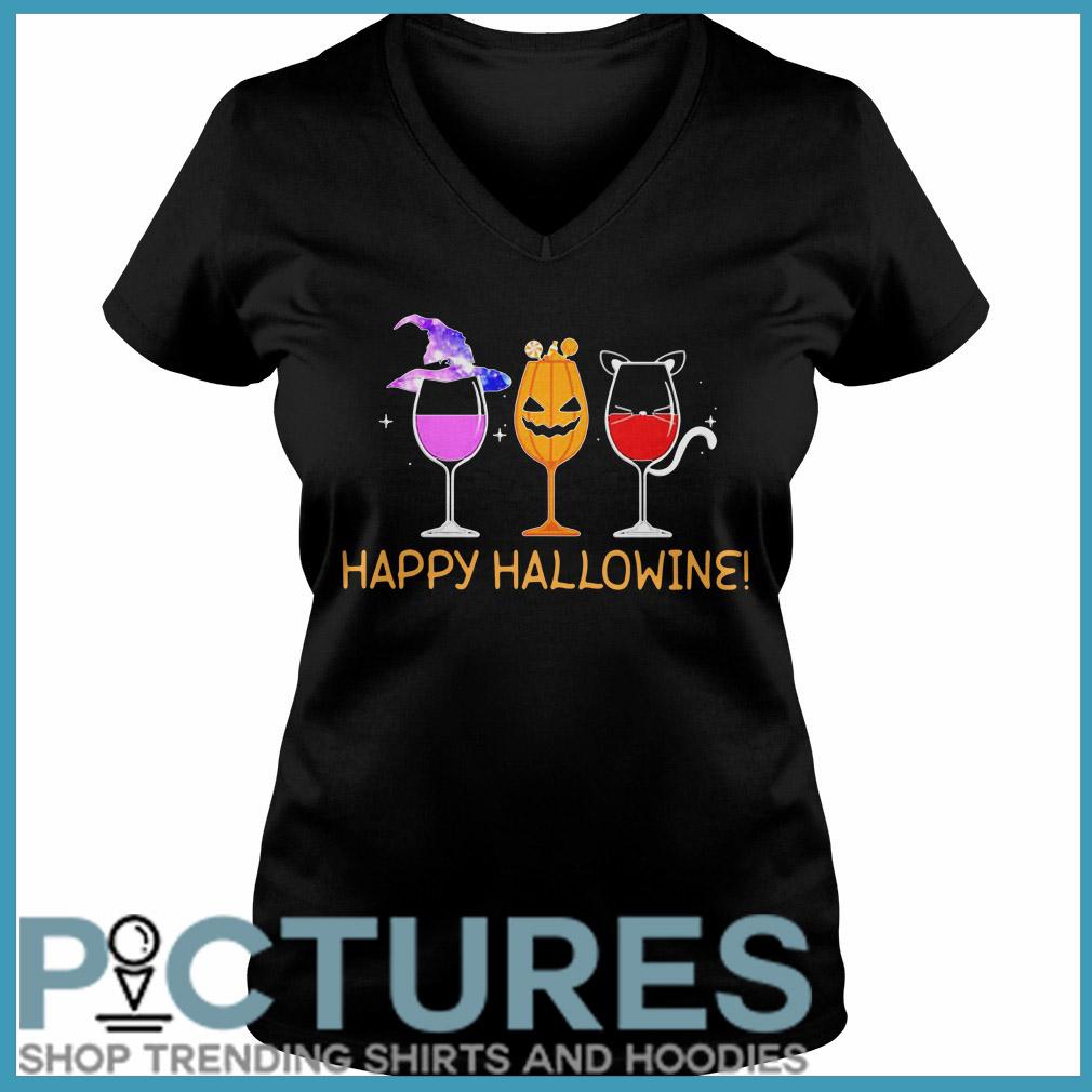 Happy Hallowine V-neck