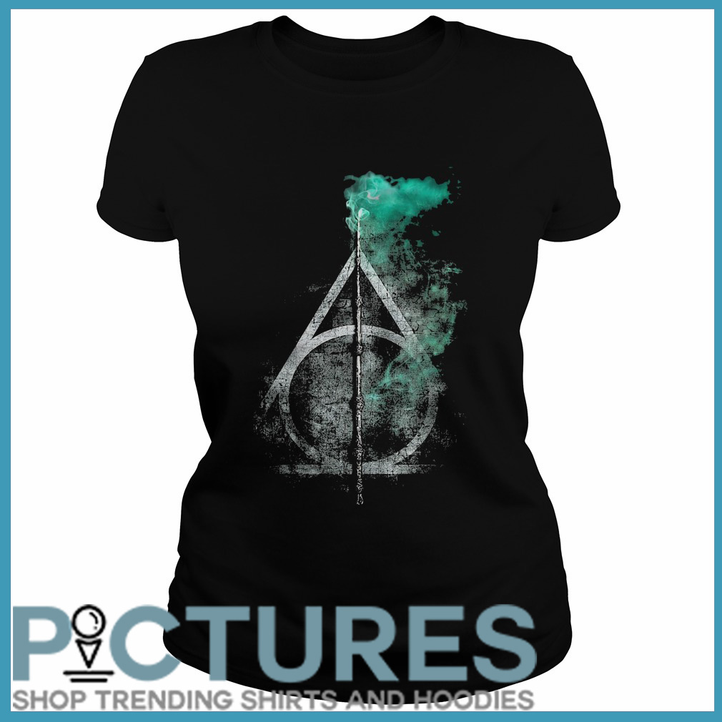 Harry Potter and the Deathly Hallows Ladies tee