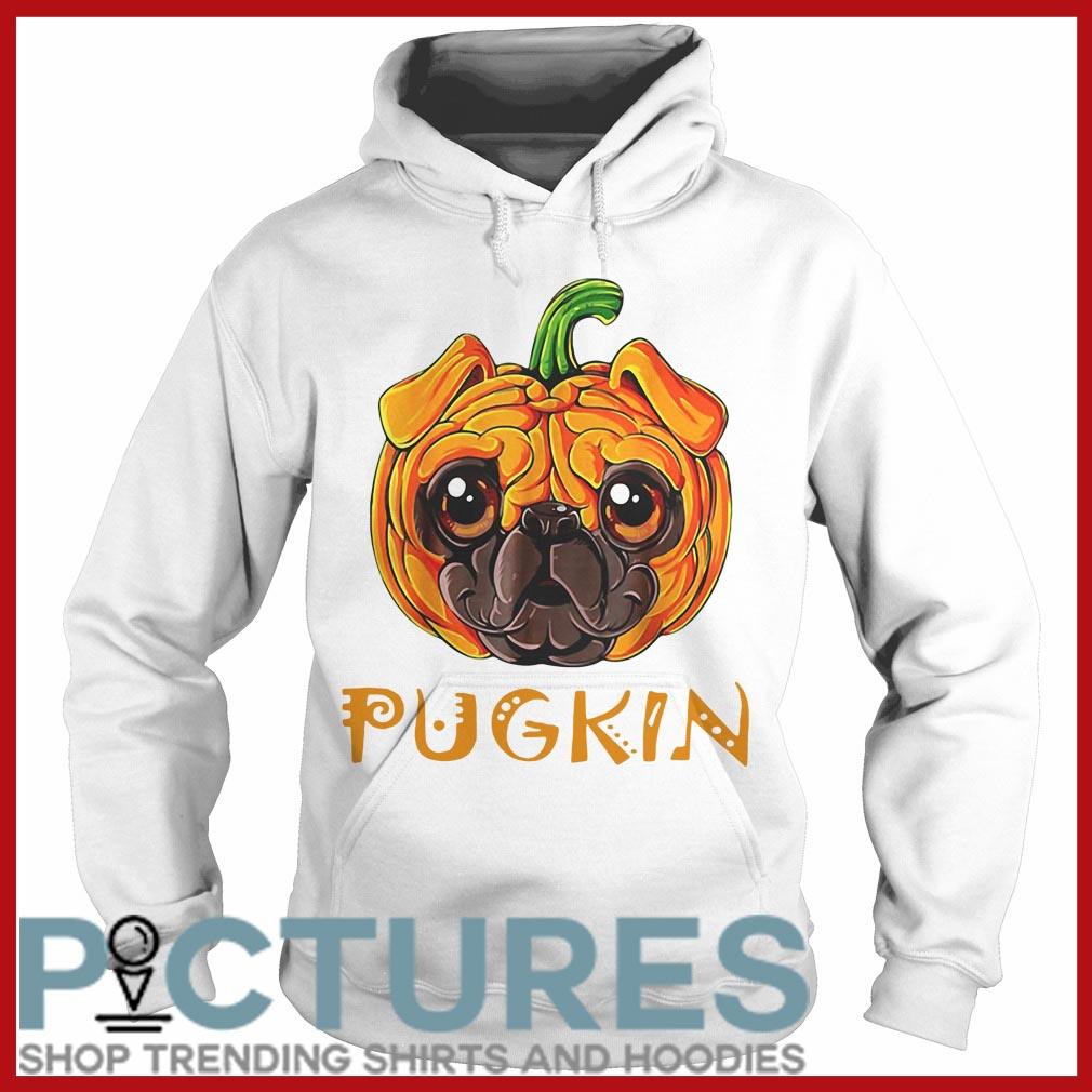 Pugkin Pug Pumpkin Hoodie