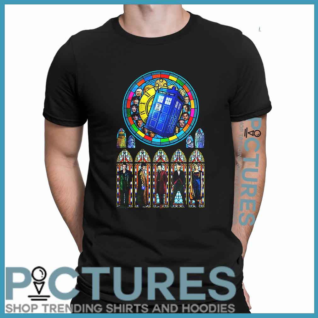 Doctor Who Stained glass shirt