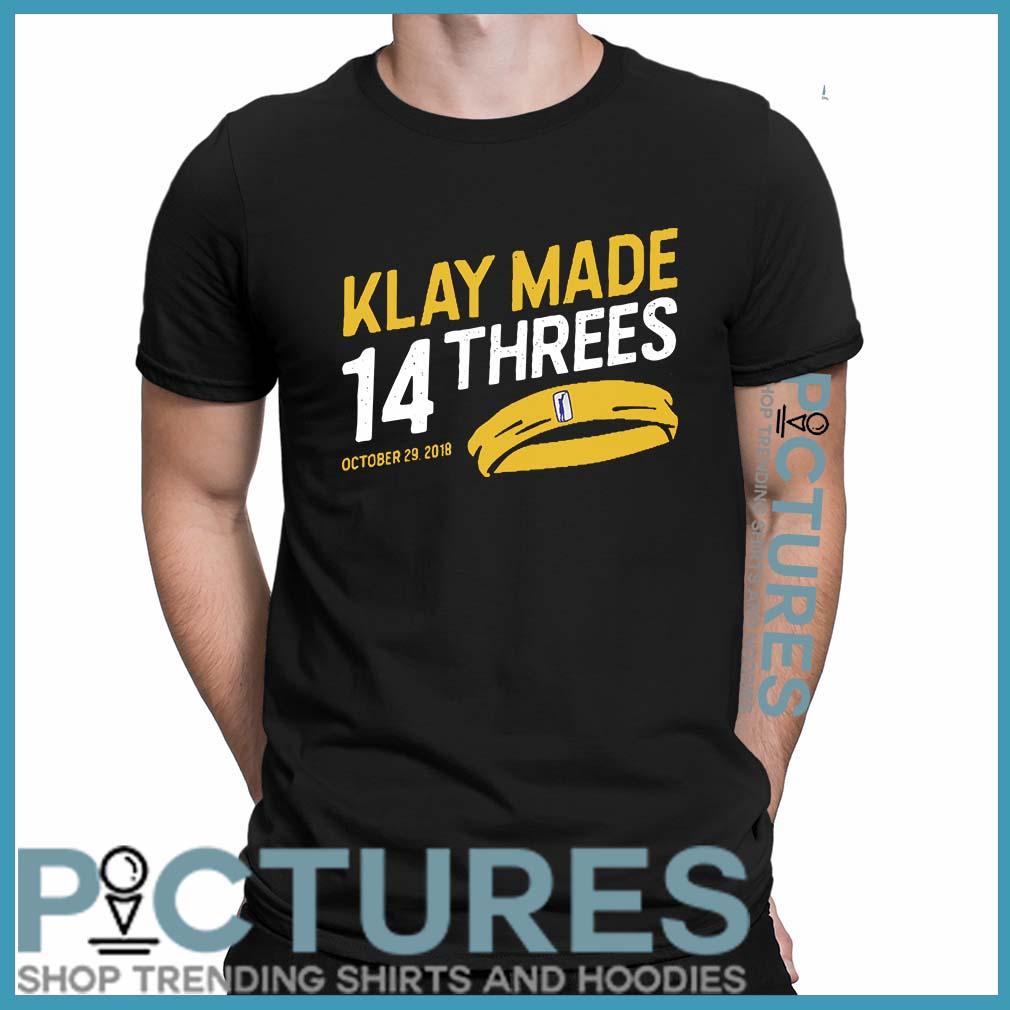 Klay made 14 threes shirt