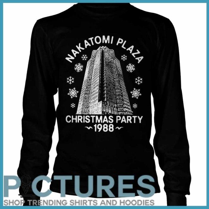 Nakatomi plaza Christmas party 1988 Long sleeve