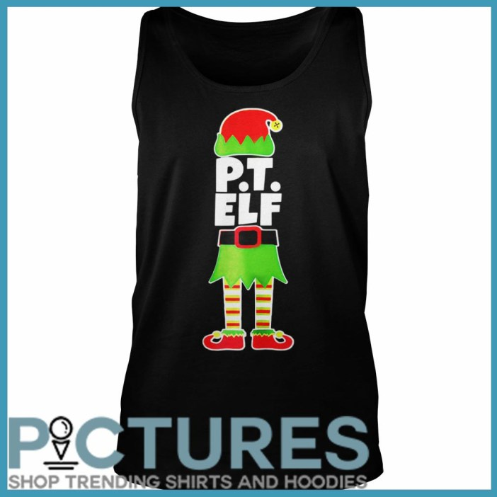 Official PT ELF Christmas Physical Therapist Therapy Holiday Shirt